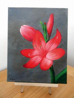 Mon 1er tableau à l'huile / My first oil painting