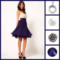 Add a splash of colour. Strapless Dress Formal, Formal Dresses, Color Splash, Bridesmaids, Colour, Bridal, Fashion, Moda, Formal Gowns
