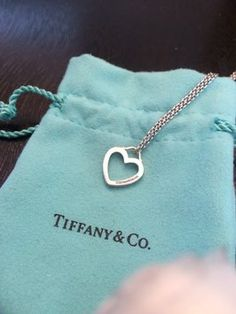 T&CO sterling Silver Small Heart Pendant . Get the lowest price on T&CO sterling Silver Small Heart Pendant  and other fabulous designer clothing and accessories! Shop Tradesy now