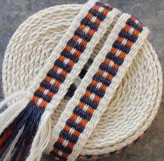 Inkle Weaving, Medieval Trim, Inkle Woven, Hand Woven Trim, Narrow Trim, Hand Woven Ribbon, Inkle Band, Wool Decorative Trim, Inkle Belt