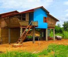 These affordable bamboo houses were built for just $2,500 each | Inhabitat - Sustainable Design Innovation, Eco Architecture, Green Building