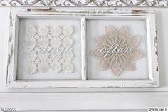 olohuone,valkoinen,maalaisromanttinen,pitsiliina,vanha ikkunanpoka Recycling, Interior Decorating, Old Windows, Windows, Remodel, Home Decor, Diy Room Decor, Frame, Lace Decor