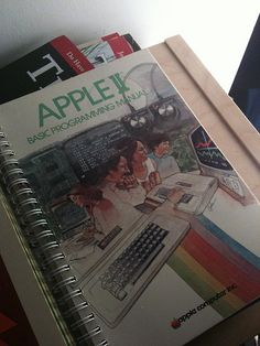 Awesome old computer manual by joestump, via Flickr