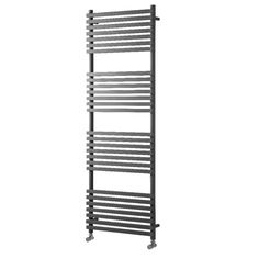 The Invent Square Vertical range of Designer Towel Radiators feature slimline flat tubes engineered to ensure maximum heat output whilst incorporating functionality of towel airing. It's available in a range of sizes in both Chrome and White. Towel Radiator, Curved Walls, Heated Towel Rail, Ladder Bookcase, Radiators, Inventions, Wall Mount, Home Improvement, Chrome