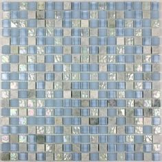 mosaique carrelage verre plaque mosaique douche zenith bleu tegels badkamer pinterest. Black Bedroom Furniture Sets. Home Design Ideas