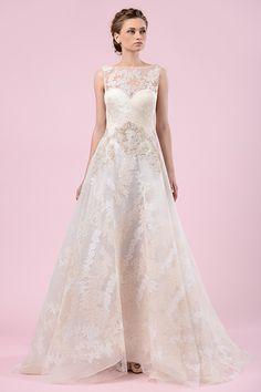 Wedding gown by Gemy Maalouf.