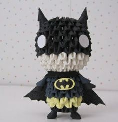 3D Origami - Cute Batman_.