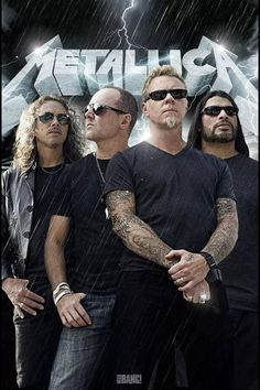 Metallica The greatest heavy metal band of all time. James Hetfield, Heavy Metal Bands, Heavy Metal Music, Robert Trujillo, Music Rock, My Music, Great Bands, Cool Bands, Rock And Roll