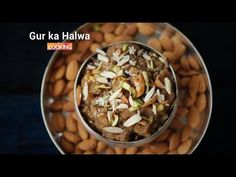 Gur ka Halwa  Prep time: 10 minutes  Number of Servings: 3-4 persons  Cook time: 20 minutes    Ingredients  Jaggery - 1 cup  Semolina - 1/2 cup  Water - 2 cups  Ghee - 50 gms  Cashews  Raisins   Cardamom - 3 no  Almonds   Pistachios     Method:  1. Dissolve the jaggery in water and bring it to a boil.  2. But if you want your halwa to be sweet you can add some more of the jaggery.  3. Once the jaggery is completely dissolved turn off the stove and keep it aside.  4. In a pan heat up some…
