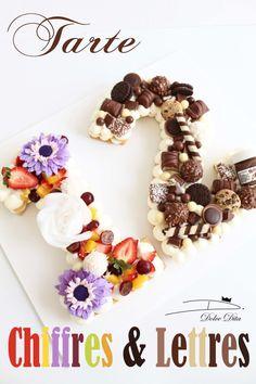 Mini Desserts For Parties Mini Desserts, Dessert Recipes, Pretty Cakes, Beautiful Cakes, Cake Cookies, Cupcake Cakes, Mini Patisserie, Alphabet Cake, Cake Lettering