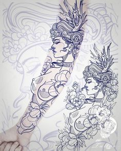 Dragon Tattoo Drawing, Tattoo Outline Drawing, Angel Tattoo Drawings, Dragon Tattoo Leg, Angels Tattoo, Dragon Sleeve, Tattoo Design Drawings, Cool Art Drawings, Tattoo Sketches