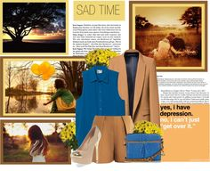"""Sad"" by taraditha ❤ liked on Polyvore"