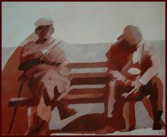 Encontros com o Tempo - Meetings with Time  74x90 cm 2007/ João Feijó Fine Art.