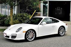 Porsche 997 Carrera White