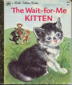 vintage Childrens Books product image -Where my love of cats began