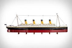 Lego Titanic, Rms Titanic, Music Promotion, Set Sail, Sailing, Ship, World, Shelter, Live