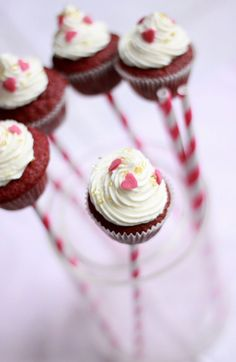 Red Velvet Cupcakes… So sweet