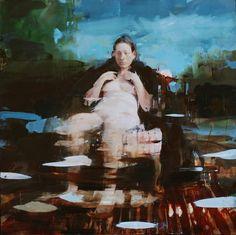 "Alex Kandinsky, ""Painting for Velazquez"", 36"" x 36, oil on board"