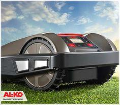 Kosiarka Robolinho. Ty odpoczywasz, ona pracuje za Ciebie http://www.sklepalko.pl/trawniki-koszenie/kosiarki-roboty.html #garden #mower #lawn