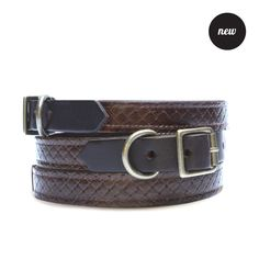 Arthur Weave Collar | Chocolate from Best in Park