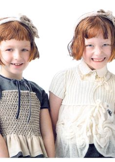 Helen on left, Grace on right.  You can tell which one takes after me.