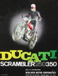 1968 Ducati Scrambler Poster