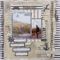 Amy's Pretty Papers: Egmond aan Zee Layout for ***Noortje Design***