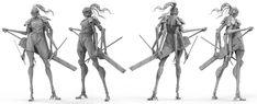 ArtStation - Cyborg-Spider Assassin, Adam Case