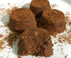 Receita de bolinho de chocolate fit sem farinha de micro-ondas - Mulher Malhada