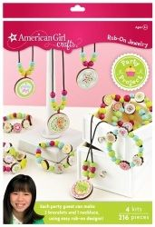 American Girl Crafts Rub-On Jewelry Party Activity Kit  $23.31