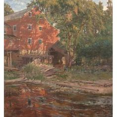 The Red Mill (c. 1916), George Glenn Newell (American, 1870 - 1947)