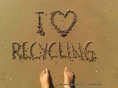 I Love Recycling. Reciclado Creativo. Rosa Montesa