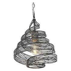 Varaluz Flow 1-Light Wrapped Mini Pendant - 240P01SL