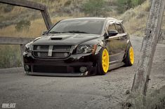New here.. My slammed daily - Dodge Caliber SRT-4 Forums