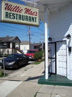 Willie Mae's fried chicken in NOLA.  This place has the best fried chicken HANDS DOWN!  I went here when I went to New Orleans this past summer, and didn't get a chance to go again in December before I left for Arizona, but I will go back!