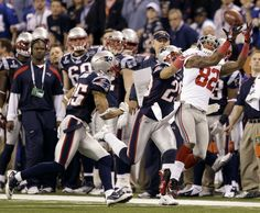 Manningham keeps the Giants hopes alive on their way to a Super Bowl victory.