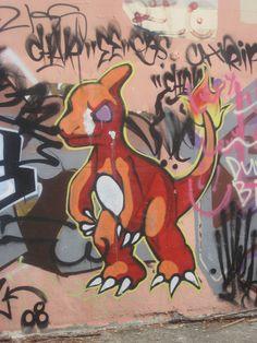20 Badass Pieces of Pokemon Graffiti | SMOSH, pokemon badass
