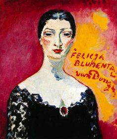 'Portrait of Felicja Blumental' (1905) by Kees van Dongen (1877-1968)