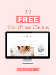11 Free Wordpress Themes #wordpressthemes