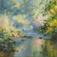 Rex PRESTON - September Sunlight, Dovedale