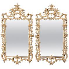 1stdibs   A Pair of George III Giltwood Mirrors
