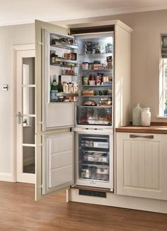 Popular Kitchen Ideas With Integrated Refrigerator. Here are the Kitchen Ideas With Integrated Refrigerator. This post about Kitchen Ideas With Integrated Refrigerator was posted under the  Kitchen Redo, New Kitchen, Kitchen Remodel, Kitchen Cabinets, Kitchen Ideas, Awesome Kitchen, Built In Fridge Freezer, Built In Refrigerator, Integrated Fridge