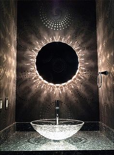unusual bathroom lighting.  unusual unique bathroom lighting idea  mirror light for marilyn round   by edge intended unusual bathroom lighting o
