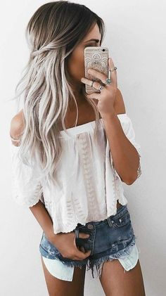 Little Boho Top + Denim