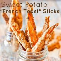 "Sweet Potato Graham Cracker ""French Toast"" Sticks"