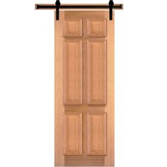 Steves \u0026 Sons 6-Panel Unfinished Pine Interior Door Slab with Sliding Door Hardware -  sc 1 st  Pinterest & Steves \u0026 Sons Rustic 2-Panel Plank Solid Core Knotty Pine Interior ...