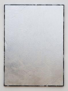 Roman Liška - Silver screen (large dazzle flat), 2012 - Rod Barton Gallery Roman, Gallery, Painting, Flat, Silver, Design, Painted Canvas, Fabrics, Bass