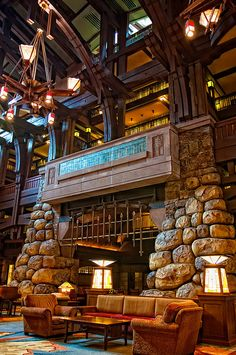 Beautiful! Disneyland - Grand Californian by Matt Pasant, via Flickr