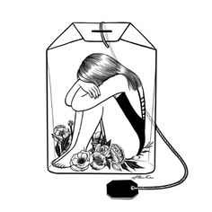 lady grey tea by henn kim. Art Et Illustration, Illustrations, Lady Grey Tea, Art Sketches, Art Drawings, Henn Kim, Poster Drawing, Drawing Drawing, Tea Art