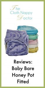 honey pot fitted cloth nappy review